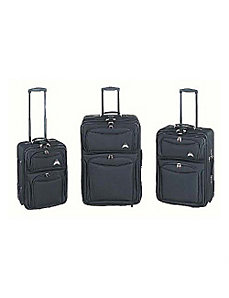 El Dorado 3-Piece Expandable Luggage Set by Traveler's Choice