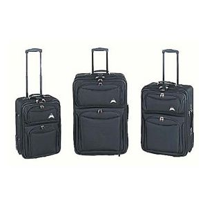 El Dorado 3-Piece Expandable Luggage Set