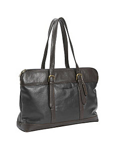 Leather Commuter Bag by Leatherbay