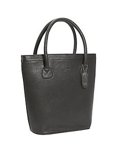 Oxford Leather Tote by Leatherbay