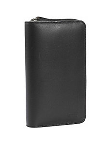 Women's Zip Leather Wallet by Leatherbay