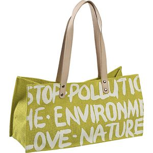 Stop Pollution Jute Bag