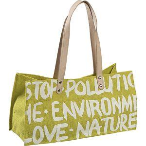 Stop Pollution Jute Bag