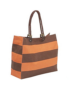 Stripes Tote by Earth Axxessories