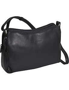 Double zip Handbag by Derek Alexander Leather