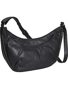 Triple Zip Hobo by Derek Alexander Leather