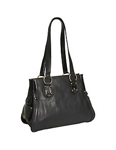 High Fashion Leather Tote by Derek Alexander Leather