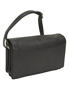 Full Flap Organizer Handbag by Derek Alexander Leather
