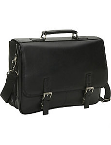 Leather Flapover Portfolio by Kenneth Cole Reaction Business and Luggage