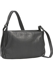 Small Two Top Zip Handbag by Derek Alexander Leather
