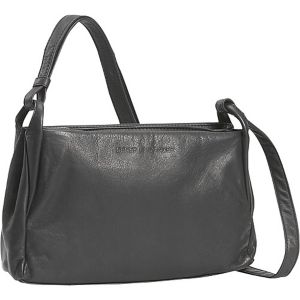 Small Two Top Zip Handbag