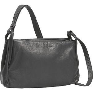 Small Two Top Zip Handbag