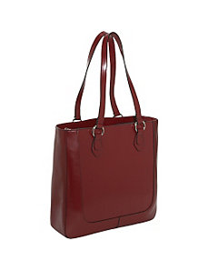 Milano Half Moon Collection North/South Laptop Tote by Jack Georges