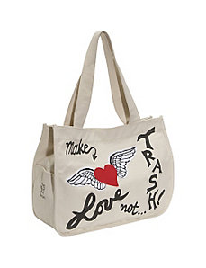 Fly Away Tote by Make Love Not Trash