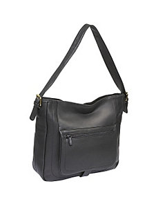 Large Top Zip Shopper Bag by Derek Alexander Leather