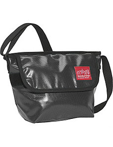 Vinyl Mini NY Messenger Bag by Manhattan Portage