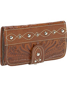 Over the Rainbow Tri-fold Wallet by American West