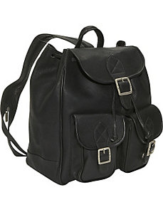 Double Front Pocket Backpack/Sling by David King & Co.