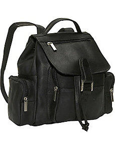 Mid Size Top Handle Backpack by David King & Co.