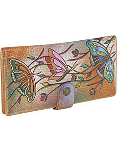 Ladies Two Fold Wallet-Angel Wings by Anuschka