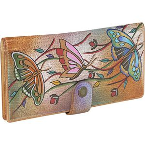 Ladies Two Fold Wallet-Angel Wings