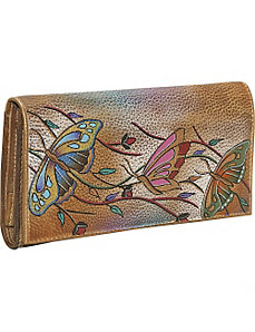 Multi Pocket Wallet/Clutch: Angel Wings by Anuschka
