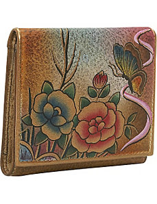 Three Fold Wallet - Premium Rose Antique by Anuschka