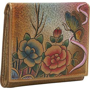 Three Fold Wallet - Premium Rose Antique