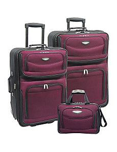 Amsterdam 3-Piece Travel Collection by Traveler's Choice