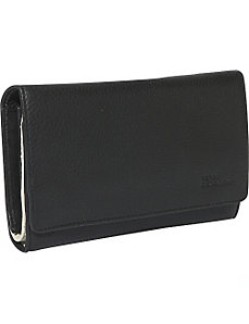 Large Credit Card Clutch by Derek Alexander Leather