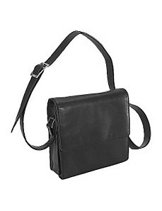 Function Front Organizer Shoulder Bag by Derek Alexander Leather