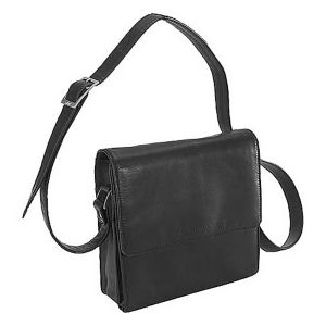 Function Front Organizer Shoulder Bag