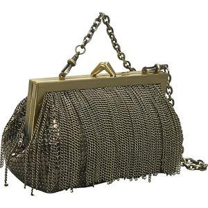 Mini Frame Bag with Chain Fringe