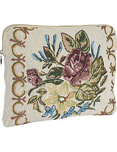 Mayflower Beige Laptop Sleeve by Mellow World