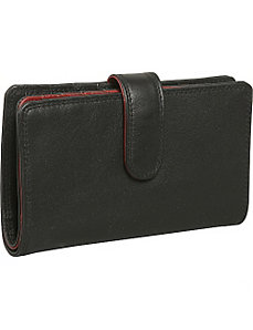 Ladies Slim Wallet by Derek Alexander Leather