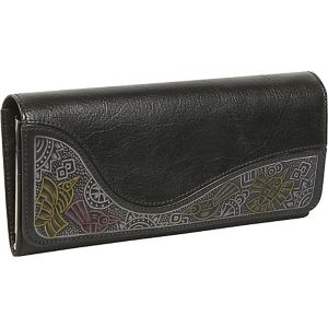 Ladies Large Clutch with Embossing