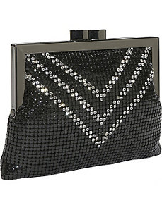 Crossbody Crystal V's by Whiting and Davis