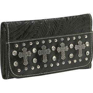 Rock Star Tri-Fold Wallet
