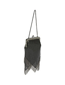 Vintage-Look Chain Fringe Bag by Whiting and Davis