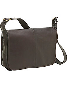 Classic Messenger by Le Donne Leather