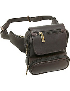Traveler Waist Bag by Le Donne Leather
