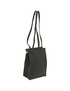 Zip Top Tote by Le Donne Leather