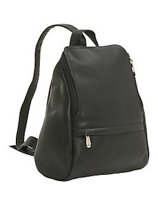 U-Zip Mini Back Pack by Le Donne Leather