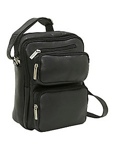 Multi Pocket Mens Bag by Le Donne Leather
