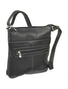 Vertical Crossbody Bag by Le Donne Leather