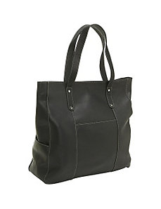 Large Slip Pocket Tote by Le Donne Leather
