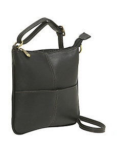 Front Pocket Cross Body by Le Donne Leather