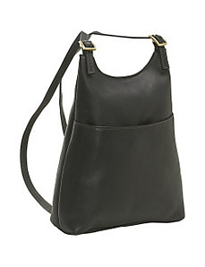 Women's Sling BackPack Purse by Le Donne Leather