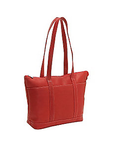 Double Strap Med Pocket Tote by Le Donne Leather
