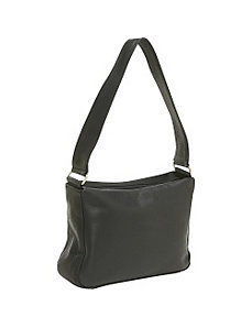 Top Zip Handbag by Le Donne Leather